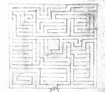 Roccioletti - giovanni della fontana labirinto