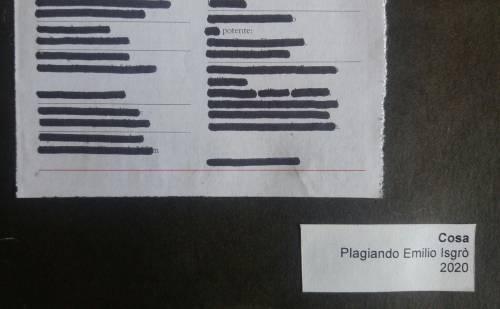 roccioletti - plagiarizing Emilio Isgrò 3