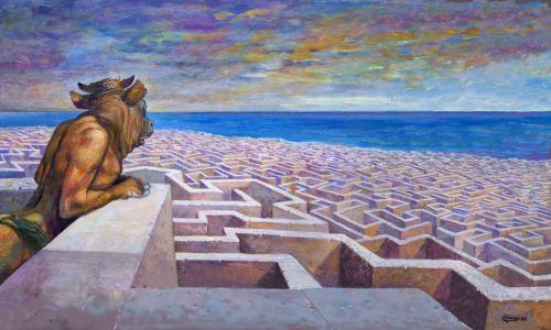 roccioletti - Jose Ramon Diez Rebanal, El minotauro de Watts.