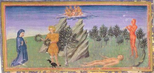 Roccioletti - Giovanni di Paolo di Grazia - Dante, Apollo e Marsia