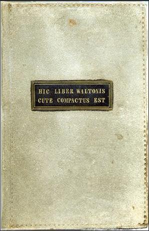 Roccioletti - Hic liber Waltonis