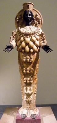 Roccioletti - Artemide Efesia, II sec DC, copia dell'immagine cultuale del tempio di Artemide a Efeso