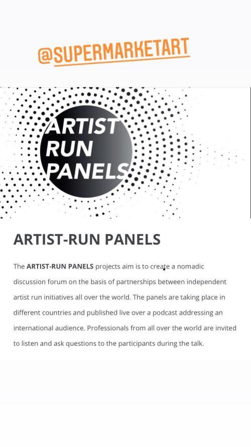 Roccioletti - Artist Run Panels 1