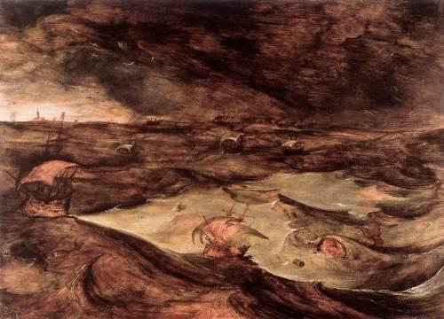 1569 - Tempesta in mare - Bruegel il Vecchio