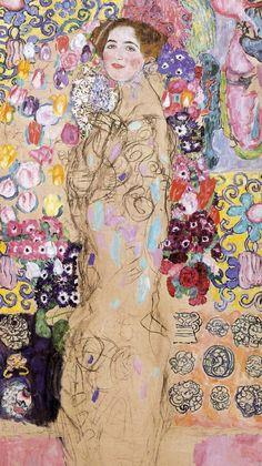 1911 - Maria Munk n3 - Gustav Klimt