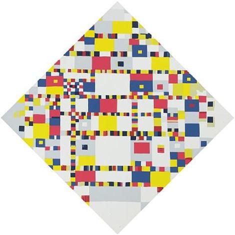 1944 - Victory Boogie Woogie - Piet Mondrian